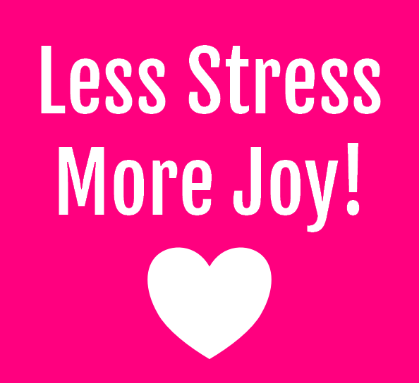 Less Stress More Joy Online Workshop