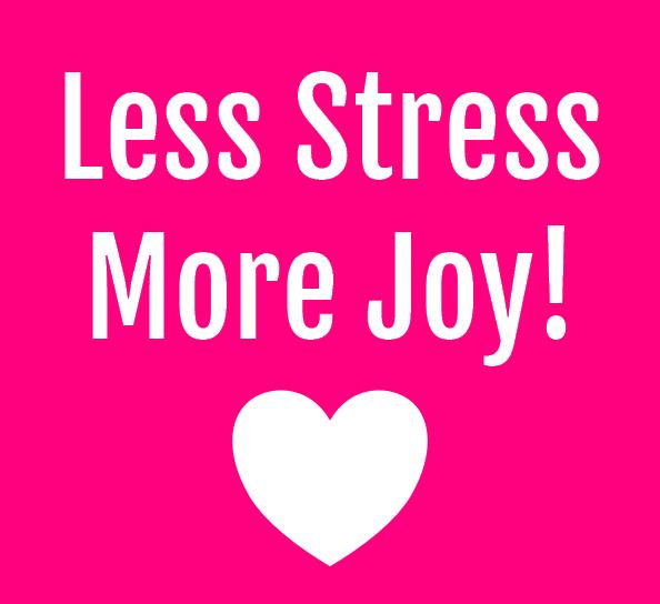Less Stress More Joy Online Workshop