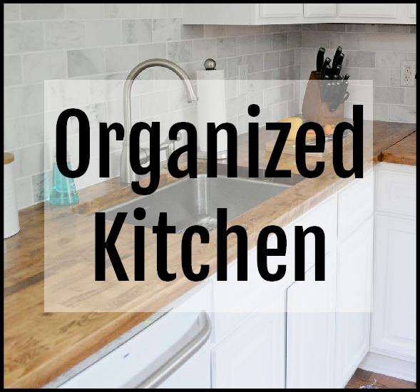 Declutter and Organize Your Kitchen Workshop