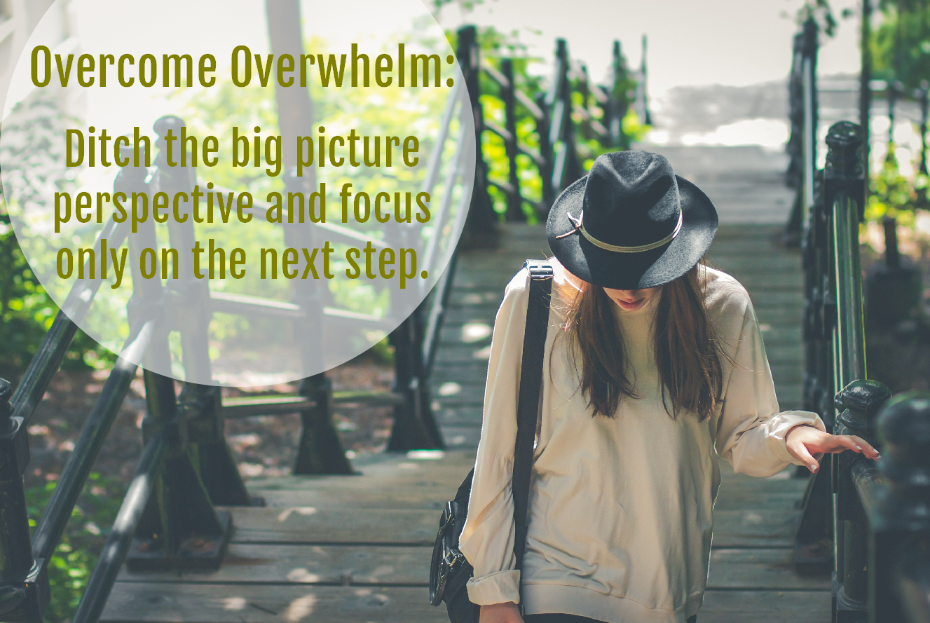 How To Overcome Overwhelm Quickly and Easily