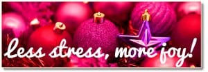 Overcome Holiday Stress Create Joy Action Plan