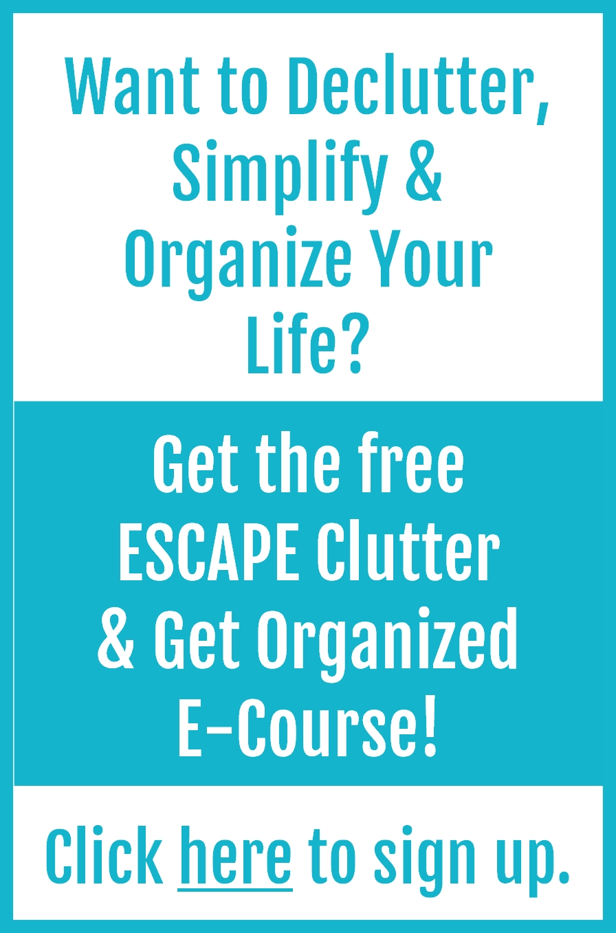 how to clear clutter quickly