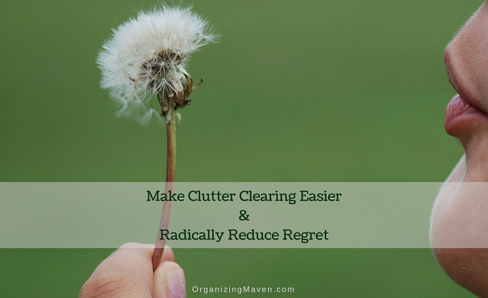 How To Let Go Of Clutter Without Regret