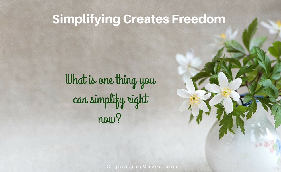 Simplify Your Life - Motivation To Help You Get Started