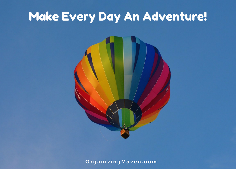 How To Make Every Day An Adventure