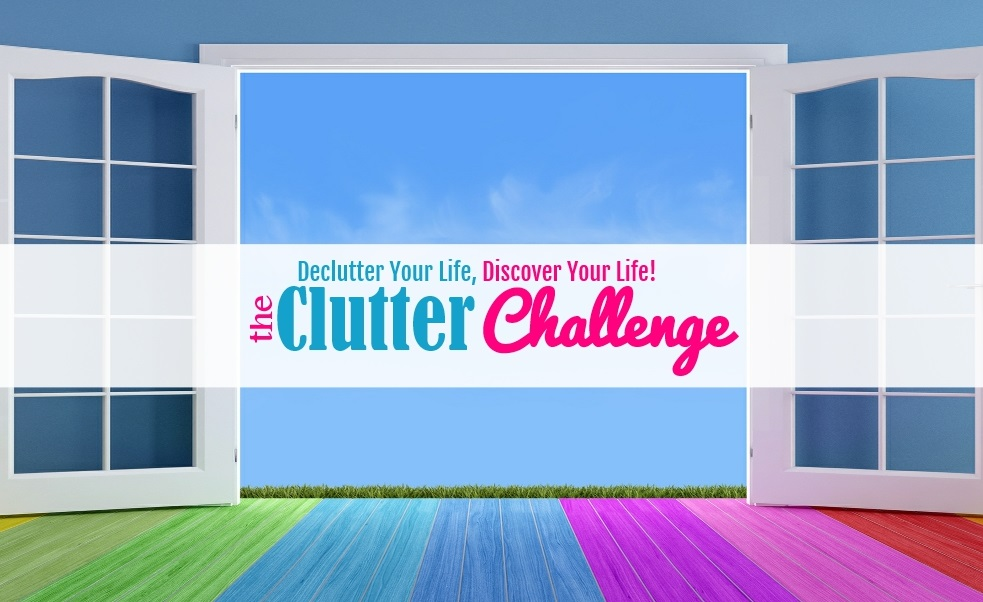 The Clutter Challenge - Habits to declutter your life