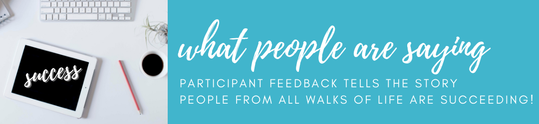 Clutter Control 101 Participant Feedback